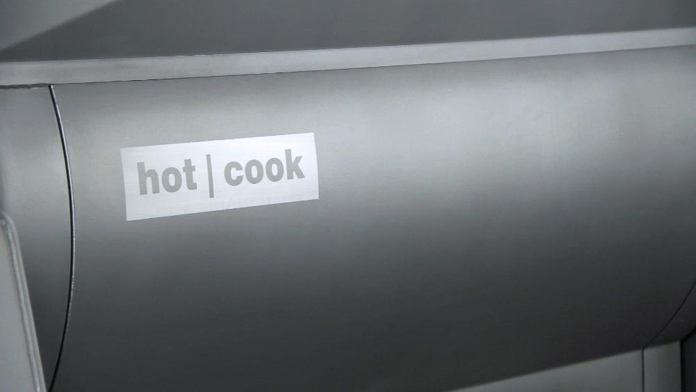 Label of the AHC Hotcook by alco food machines