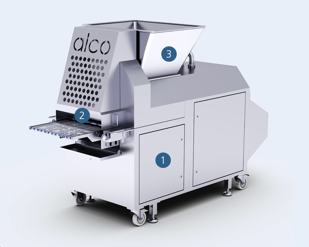 AFM Forming Machine by Alco Food Machines Industry Supply
