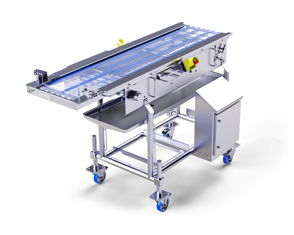 Shuttle Conveyor by Alco Food Machines Technology Supply