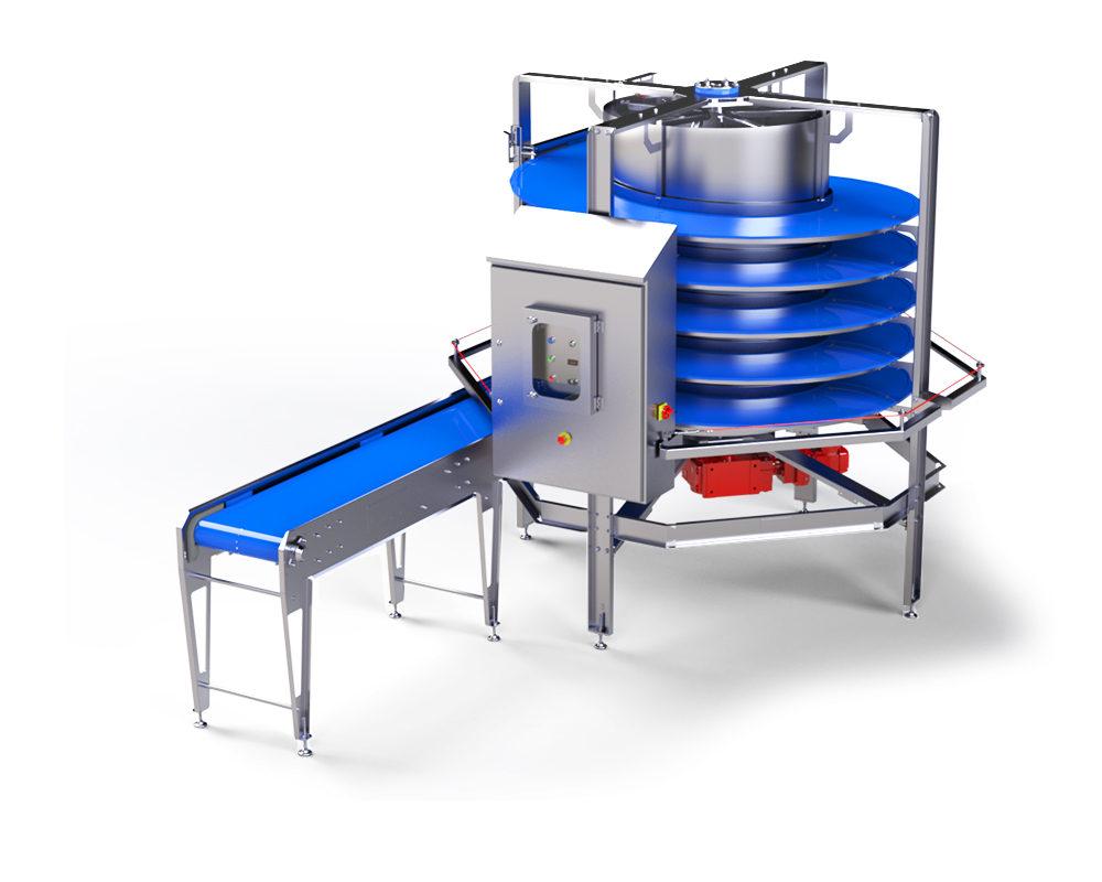 Spiral Conveyor by alco food machines technology supply